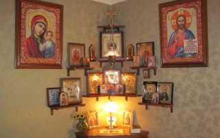 Куда ставить иконы в доме