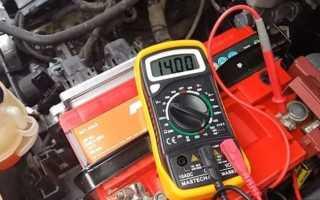 Какую зарядку должен давать генератор