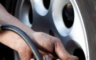 Какое давление в шинах на лада гранта