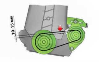 Как проверить натяжитель ремня генератора