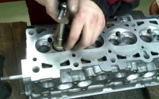 Как правильно прирезать седла клапанов