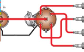 Как подключить бабину на ваз 2107