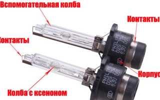 Лампы для ксеноновых фар