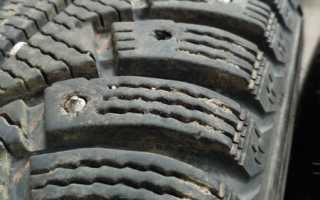 Шипы для шин размеры