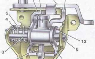 Коробка передач ваз 21099 схема переключения