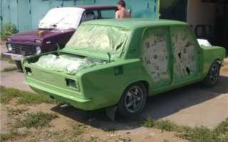 Можно ли красить авто на старую краску