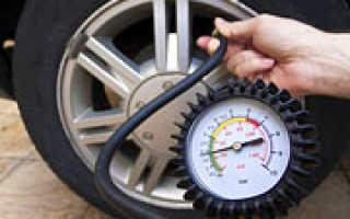 Какое давление в колесах легкового автомобиля