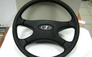Как снять рулевое колесо на ваз 2107