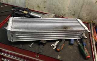 Как снять радиатор печки уаз 469