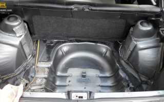 Как сделать фальш пол багажника 2114