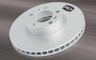 Как определить размер тормозного диска