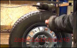 Как сделать балансировку колес в домашних условиях