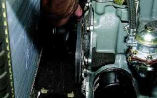 Как подтянуть ремень генератора на ниве 21214