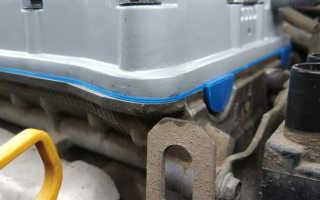 Как правильно ставить прокладку клапанной крышки