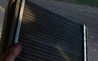 Как поменять радиатор отопителя на калине