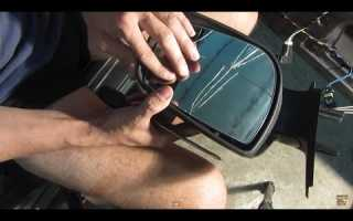 Замена зеркального элемента нива шевроле