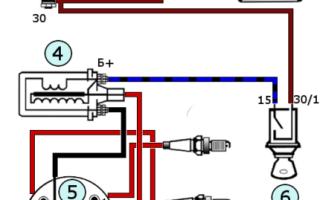 Как правильно подключить катушку зажигания ваз 2106
