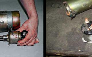 Втягивающее реле стартера ваз 2106 ремонт