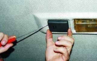 Замена датчика температуры салона приора