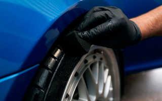 Как чернить резину на авто