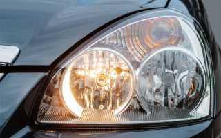 Замена габаритных ламп приора