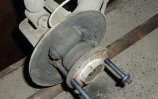 Замена заднего ступичного подшипника ваз 21099