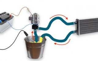 Как промыть радиатор печки на гранте