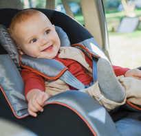 Как перевозить малыша в машине
