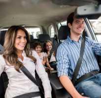 Как перевозить грудных детей в автомобиле