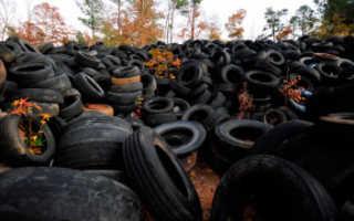 Куда девать изношенные шины