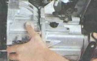 Как снять троса кпп ларгус