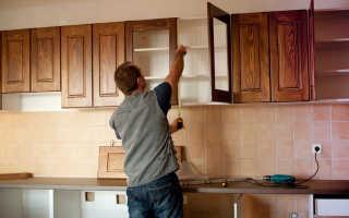 Как правильно установить мебель в кухне?
