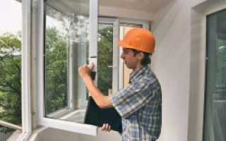 Как снять пластиковое окно с рамы видео
